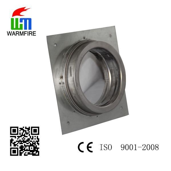 Ce and stainless steel fireplace pipe accessory roof
