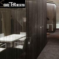 China Flame Retardant Stainless Steel Ball Chain Curtain For Door on sale