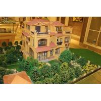 Architectural villa house scale model with lifter, 3d maquette architectural