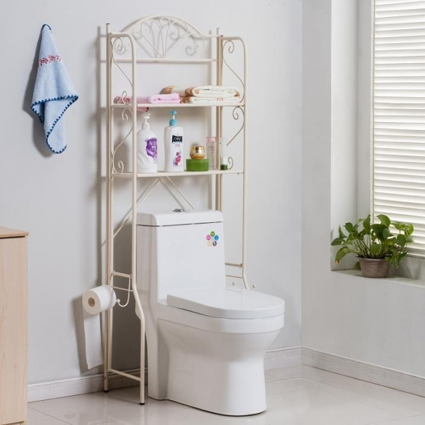 Quality 3 Tiers Free Standing Bathroom Toilet Rack for sale