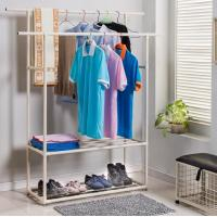 Storage Rack for Hanging Clothes with Shoe Rack Manufactures