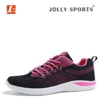 China Knitting Breathable Running Shoes For Women on sale