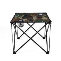 Camping Picnic Fishing Folding Foldable Table and Chair Set Camouflage Manufactures