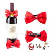 RB-010 Satin Ribbon Bow With Elastic Band For Perfume Bottle Decoration