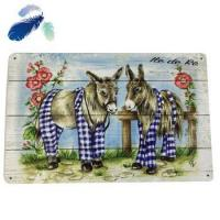 China Low cost fashion wall decoration metal plate printing picture on sale