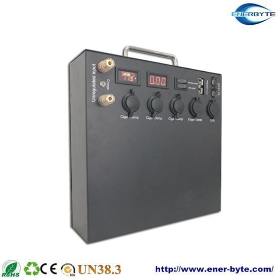 Quality Portable Solar System 12V 100ah Lithium Battery Bank for sale