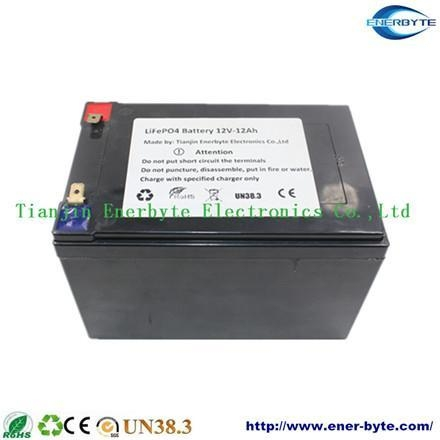 Quality LiFePO4 Battery Pack 12V 12ah Replacing Lead Acid Battery for sale