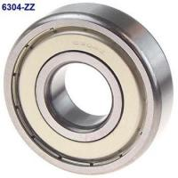 Solid Grease ZZ Seal Type Deep Groove Ball Bearing 6304ZZ 20x52x15mm Manufactures