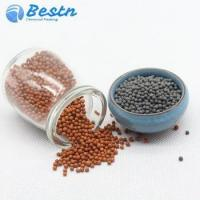 China Mineral ceramic beads, black/red clay ball for water treatment on sale