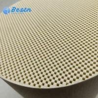 Round Diesel Engine Parts DPF diesel filter for removing PM of heavy duty truck