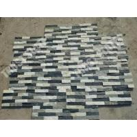 Buy cheap Black And White Color Quartzite Ledgestone Veneer Wall Fireplace Ledgestone Designs from wholesalers