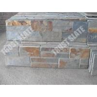 Buy cheap Brown Slate Classic Ledge Panel Wall Stone Facade Ledger Panel 6x24 from wholesalers