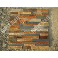 Buy cheap Rustic Brown Slate Ledge Panel 6x24 Ledge Panels Interior Wall Decorative from wholesalers