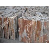 Buy cheap Red Brick Color Ledge Panel Size 6x24 Ledge Stone Garden Wall Decoration Ledge from wholesalers