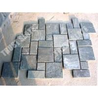 Buy cheap Silver Green Quartzite French Pattern Paver Mat from wholesalers