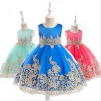 Wholesale Baby Frock Latest Kids Clothing Lace Frock Designs Wedding Party Bridesmaid