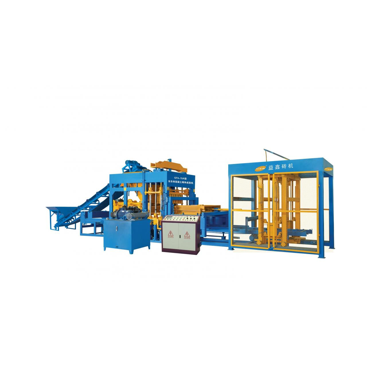 QT4-15 Auto Concrete block making machine