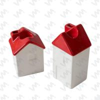 MCH-024 Christmas Ceramic Candle Holder Manufactures