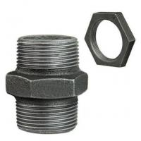 Black Malleable Iron Pipe Fittings Nipple