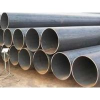 structural round black tubing pipe
