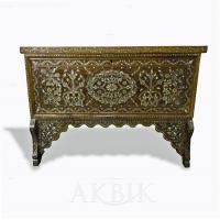 Chests Style no. WT637 - Old Syrian bridal Chest Inlaid with Mother of pearl.