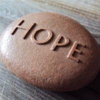 Buy cheap Hope, Personalized Engraved Stone Gifts, Corporate Gift, Home Decor AP43 from wholesalers