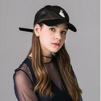 Buy cheap Embroidery Decoration Girl Fabric Baseball Cap from wholesalers