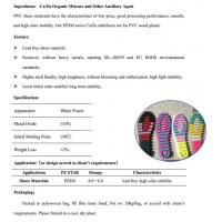 Buy cheap Ca/Zn Stabilizers for PVC Shoes Materials from wholesalers