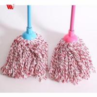 China Supplier 2061-SST Cleaning Cotton thread Floor Mop with mix color cotton and SS stick Manufactures