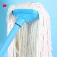 High Quality 2036-SST Floor Cleaning Fine Cotton Mop with ss Stick Manufactures
