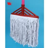Super clean 409-SST square head stranded cotton thread floor mop for home cleaning match SS stick Manufactures