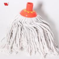 Trending hot 933-SST floor Cleaning stranded cotton yarn Mop with steel stick