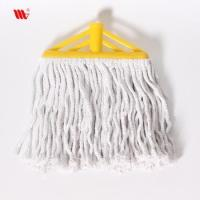 Durable 938-SST Pure Cotton thread Floor Cleaning Mop for home use match SS stick Manufactures