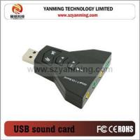 China 7.1 4-channel sound card on sale