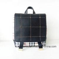 Guangzhou Supplier Lady PU Rivets Leather Backpack (NMDK-040505) Manufactures
