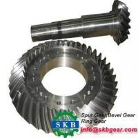 China Complete in specifications spiral bevel gear for rear differential on sale