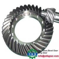 Reducer parts match working steel bevel gear Manufactures
