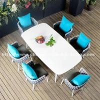 Buy cheap Outdoor Dining Garden Dining Table And Chairs from wholesalers