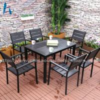 Buy cheap Outdoor Dining Polywood Garden Dining Table and Chair from wholesalers