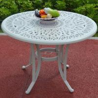 Buy cheap Outdoor Dining Cast Aluminium Garden Table from wholesalers