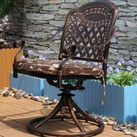 Buy cheap Outdoor Dining Cast Aluminum Dining Chairs from wholesalers