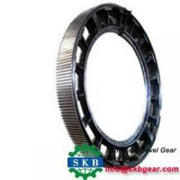China The production SANY Road roller to drive axle spare parts the ring gear on sale