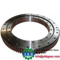 Sinotruk Heavy Duty Gears Forged Steel Rings Black Bright Polished Surface Manufactures
