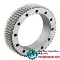 Industrial Iron Casting Split Big Gear Ring Manufactures