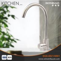 Supplier direct SUS304 stainless steel water classic single handle kitchen faucets