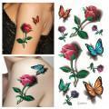 3D Free Body Tattoo Sticker for Women Manufactures