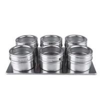 China Magnetic Spice Jars Stainless on sale