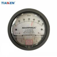 China Micro Low Air Differential Pressure Gauge for Fan Air Blower Clean Room on sale