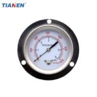 China Front Panel Back Entry Type Pressure Gauge on sale