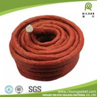 China Silicon Rubber Coated Glass Fiber Rope on sale